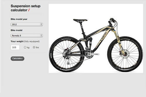Trek Bicycles Has Made Tuning Its Suspension A Just Few Clicks Away