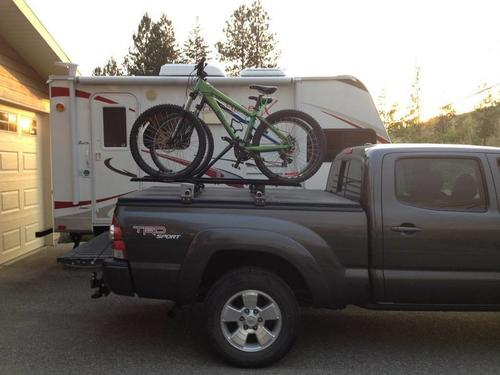 Truck Bed Cover With Bike Rack Ridemonkey Forums